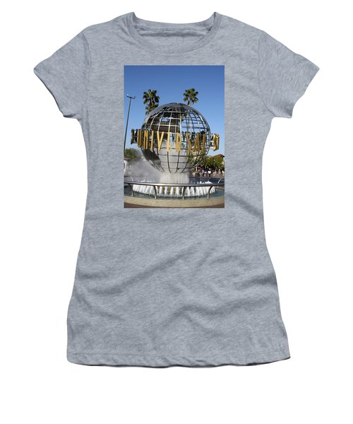 World Of Universal Women's T-Shirt (Athletic Fit)