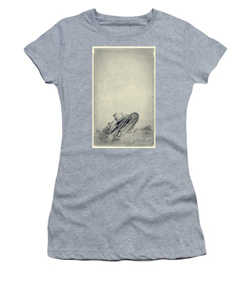 World War I Tank In Trench Warfare Women's T-Shirt