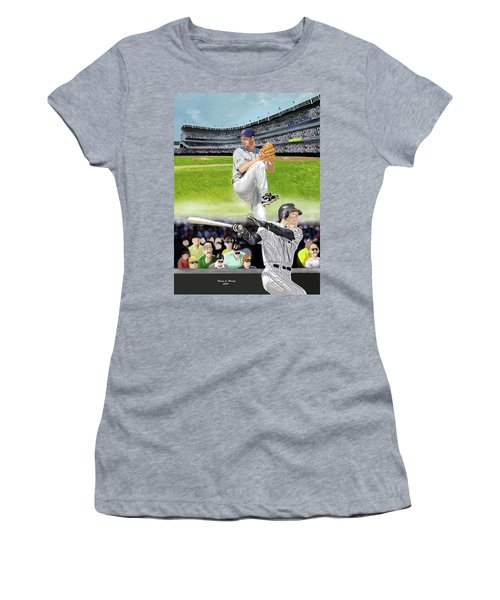 Yankees Vs Indians Women's T-Shirt