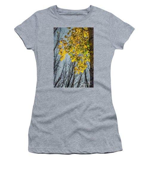 Yellow Leaves Women's T-Shirt