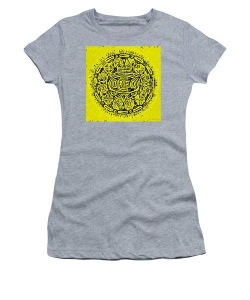 Yellow Oreo Women's T-Shirt