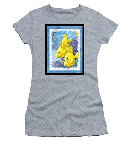 Yellow Tang Women's T-Shirt