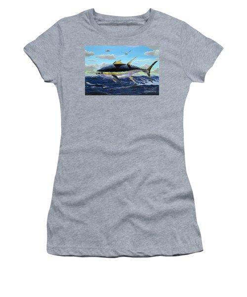 Yellowfin Crash Off0081 Women's T-Shirt