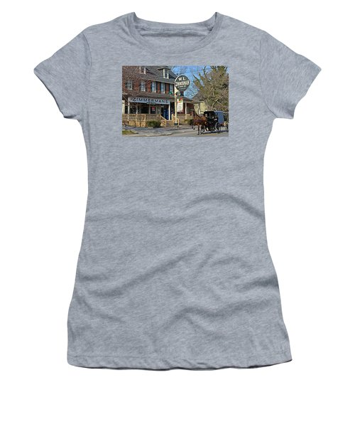 Zimmerman's Store Intercourse Pennsylvania Women's T-Shirt (Athletic Fit)