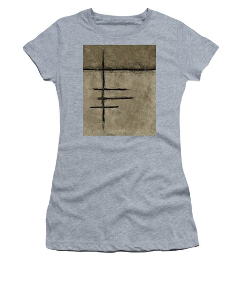 0292 Abstract Thought Women's T-Shirt (Athletic Fit)