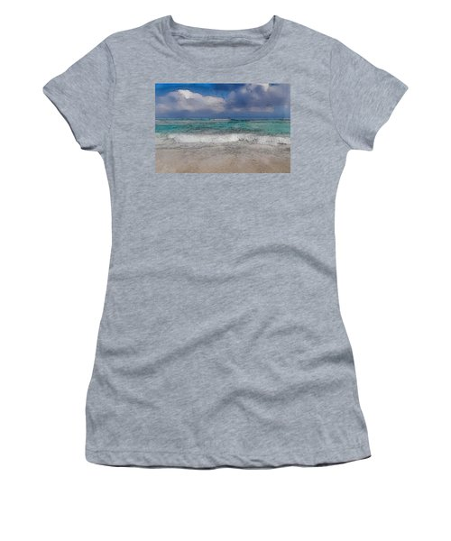 Beach Background Women's T-Shirt