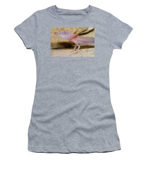 Blind Salamander Women's T-Shirt (Athletic Fit)