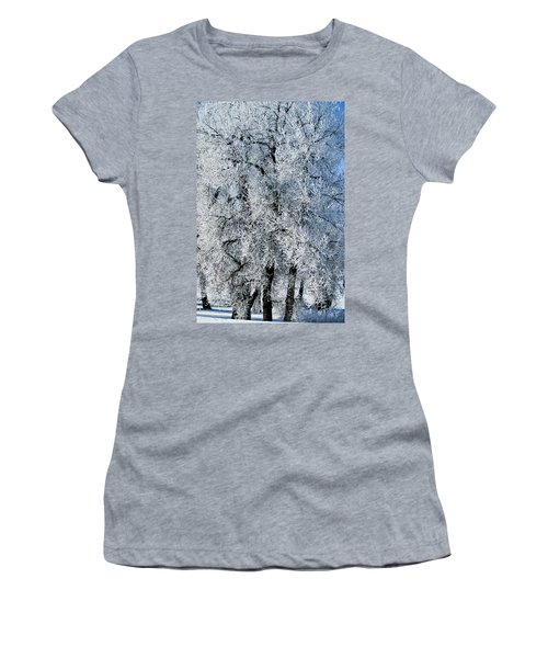 Iced Women's T-Shirt (Athletic Fit)