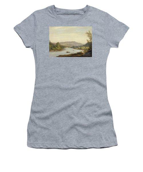 Landscape With River Women's T-Shirt