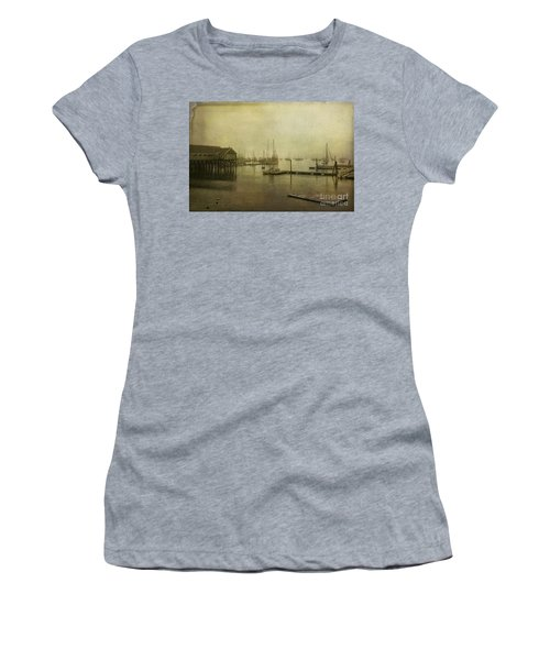 Rockland Harbor Women's T-Shirt (Athletic Fit)