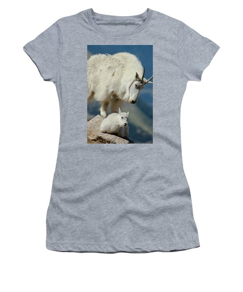 Standing Watch Women's T-Shirt (Athletic Fit)