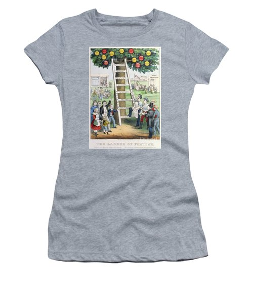 The Ladder Of Fortune Women's T-Shirt
