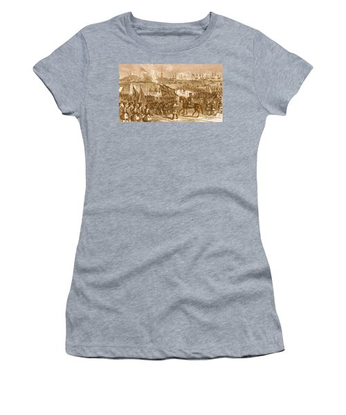 The Surrender Of Louisbourg, 1758 Women's T-Shirt