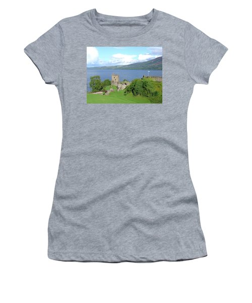 Urquhart Castle Women's T-Shirt (Athletic Fit)