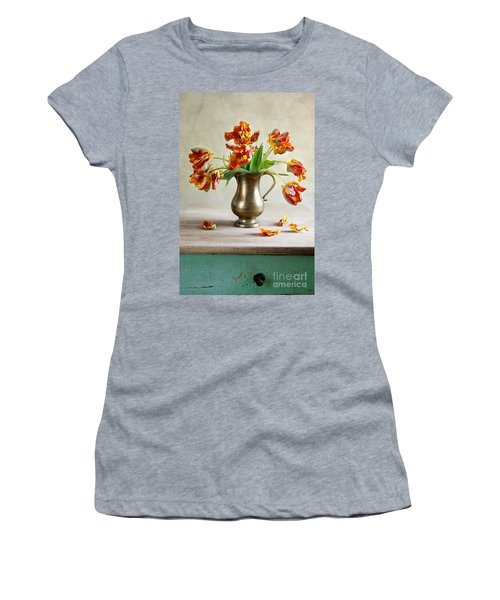 Still Life With Tulips Women's T-Shirt