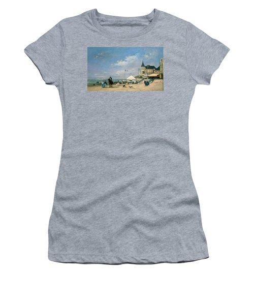 The Beach At Trouville Women's T-Shirt