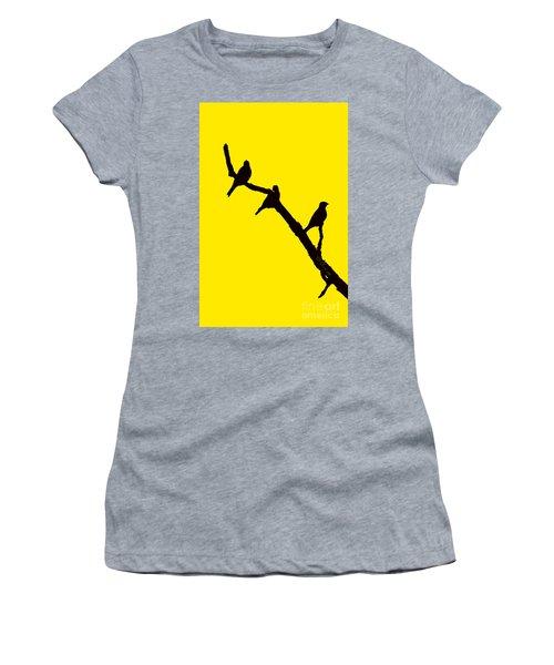 3 Birds On A Limb Women's T-Shirt