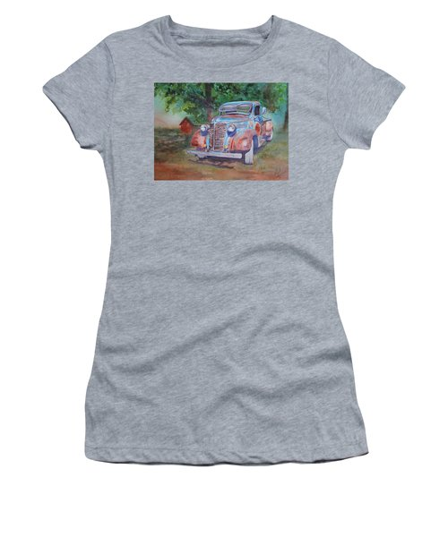 '38 Chevy Women's T-Shirt (Athletic Fit)
