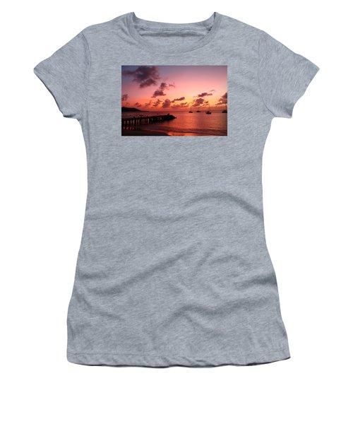 Sunset Women's T-Shirt (Athletic Fit)