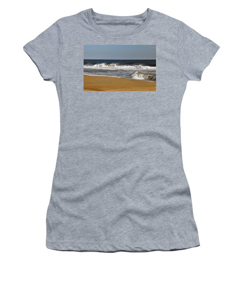 Women's T-Shirt (Junior Cut) featuring the photograph A Brisk Day by Sarah McKoy