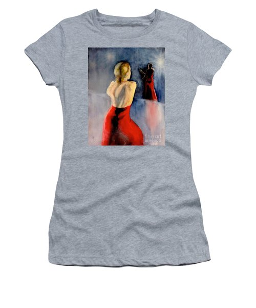 A Flamenco Dancer  3 Women's T-Shirt (Athletic Fit)