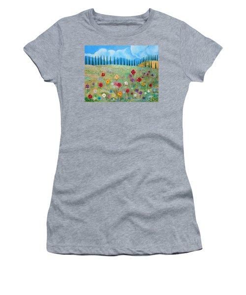 A Peaceful Place Women's T-Shirt (Junior Cut) by John Keaton