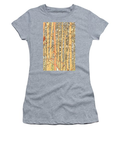 Abstract Aspens Women's T-Shirt (Athletic Fit)