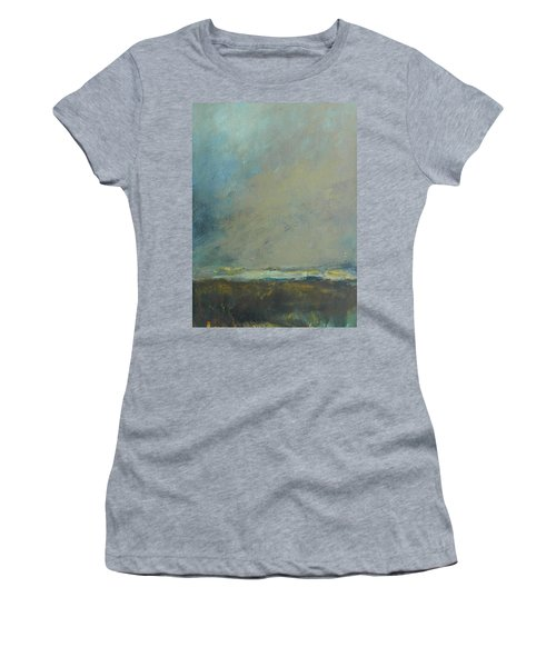 Abstract Landscape - Horizon Women's T-Shirt (Athletic Fit)