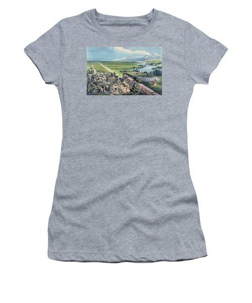 Across The Continent Women's T-Shirt