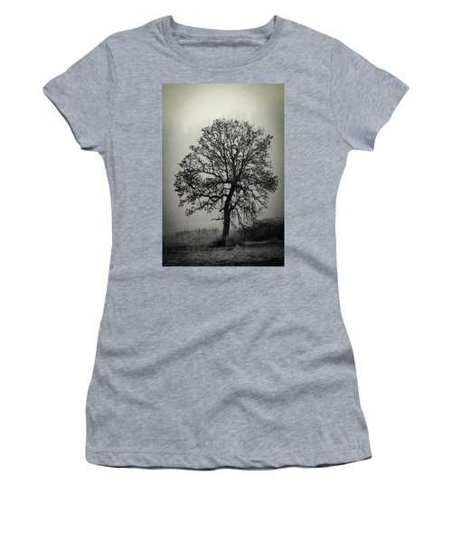 Women's T-Shirt (Junior Cut) featuring the photograph Age Old Tree by Steve McKinzie
