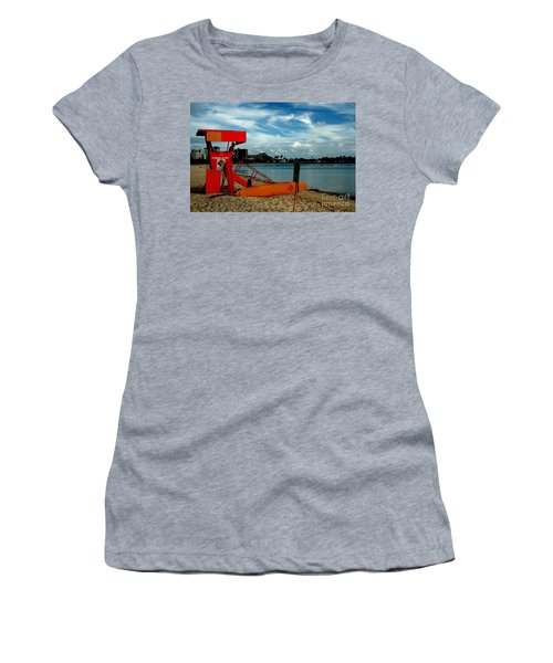 Ala Moana Women's T-Shirt (Junior Cut) by Mark Gilman