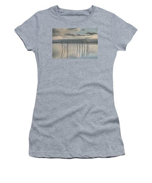 Albufera Gris. Valencia. Spain Women's T-Shirt (Athletic Fit)