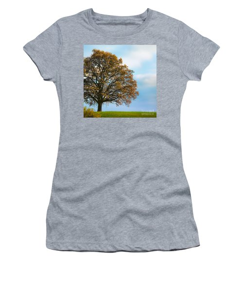 Alone On The Hill Women's T-Shirt