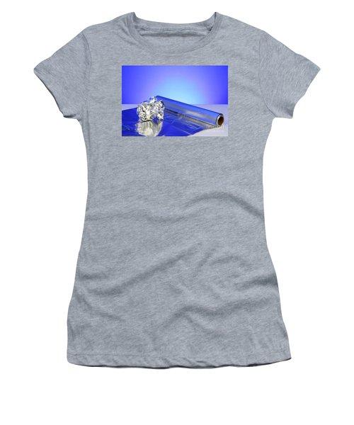 Aluminum Foil Women's T-Shirt