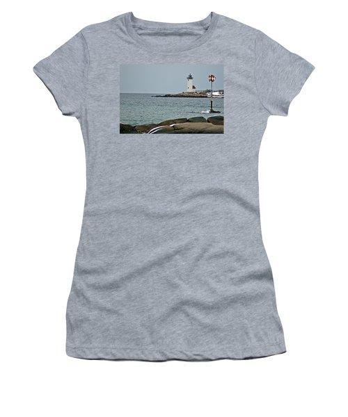 Annisquam Lighthouse Women's T-Shirt (Athletic Fit)