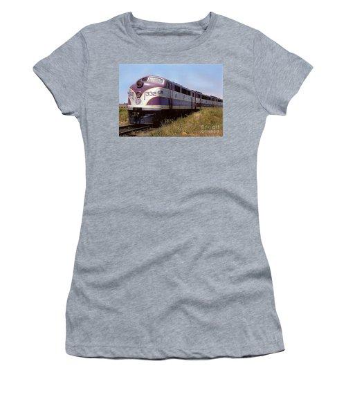 Atlantic Coast Line F2 Aba Women's T-Shirt (Athletic Fit)
