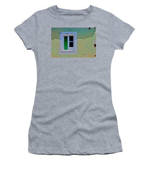 Azores Window Women's T-Shirt (Junior Cut) by Eric Tressler