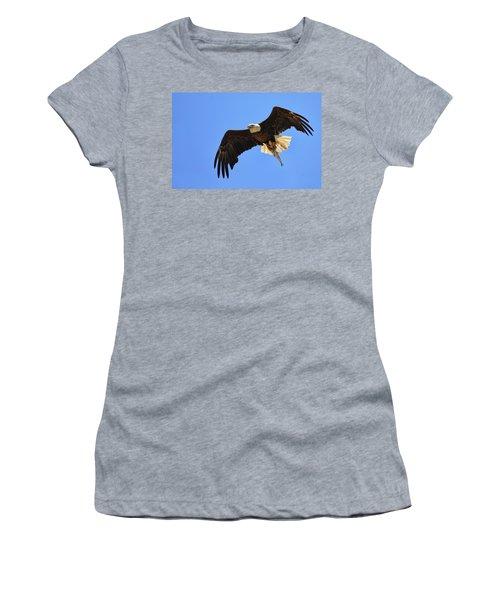 Bald Eagle Catch Women's T-Shirt
