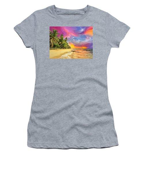 Bali Beach Sunset Women's T-Shirt