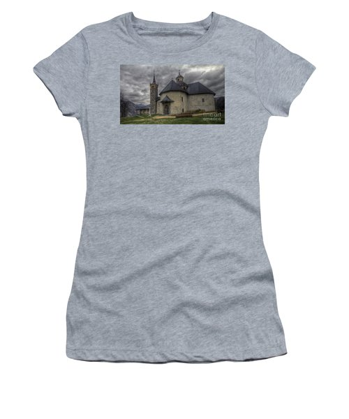 Baroque Church In Savoire France 6 Women's T-Shirt (Athletic Fit)