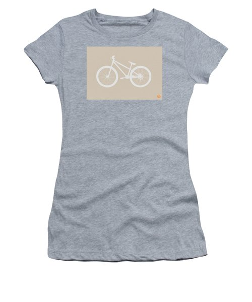 Bicycle Brown Poster Women's T-Shirt