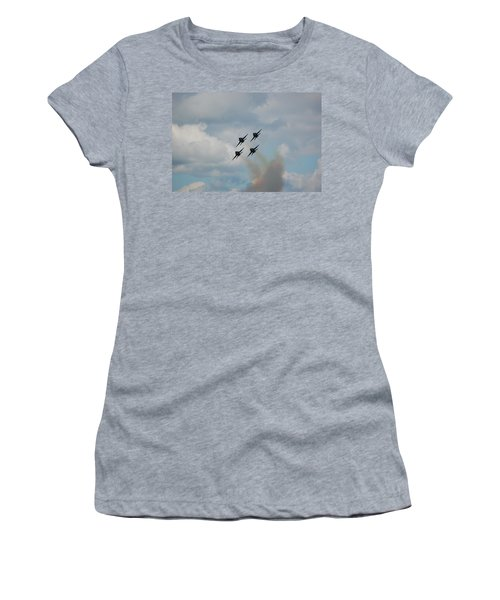 Blue Angels Roaring By Women's T-Shirt