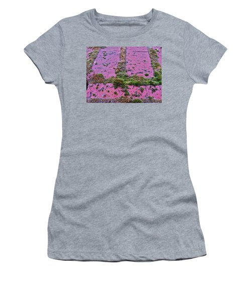 Brick Wall Women's T-Shirt (Junior Cut) by Bill Owen