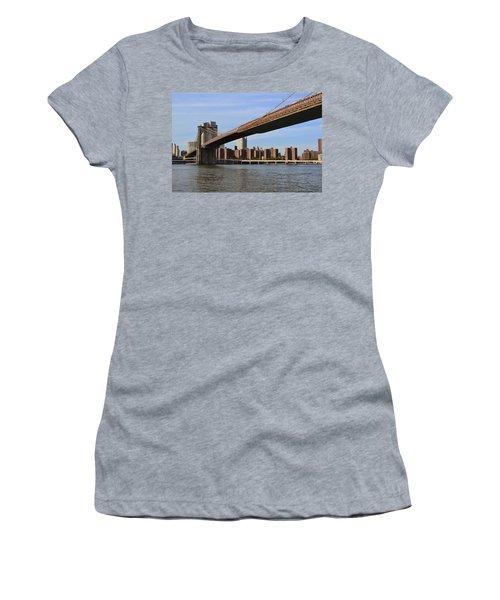 Brooklyn Bridge1 Women's T-Shirt (Athletic Fit)