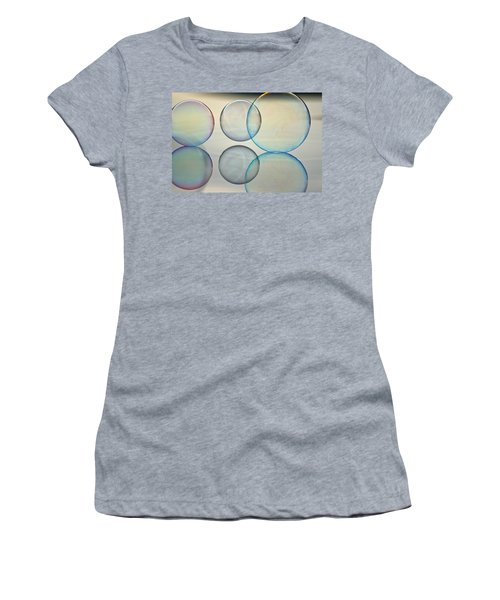 Bubbles On The Water Women's T-Shirt (Athletic Fit)
