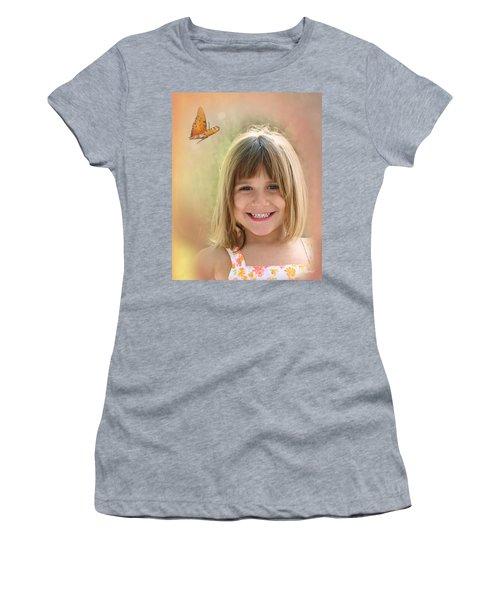 Butterfly Smile Women's T-Shirt