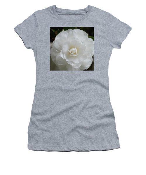 Camellia After Rain Storm Women's T-Shirt