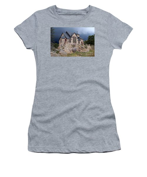 Chapel On The Rocks No. 1 Women's T-Shirt (Junior Cut) by Dorrene BrownButterfield