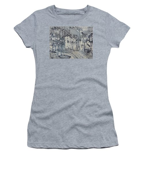 City Doodle Women's T-Shirt (Athletic Fit)
