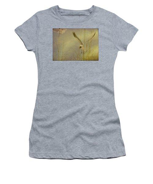 Contemplative Dream Women's T-Shirt (Athletic Fit)